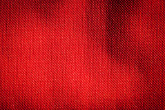 Red fabric background. Stock Image