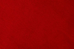 Red fabric background texture closeup. Stock Photo