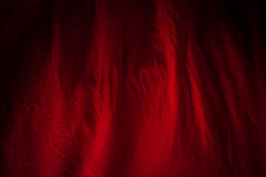 Red fabric backgroung Royalty Free Stock Photos