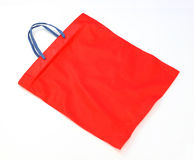 Red fabric bag Royalty Free Stock Photo