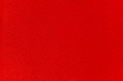 Red fabric. The bright red velvet cloth, close-up Royalty Free Stock Images