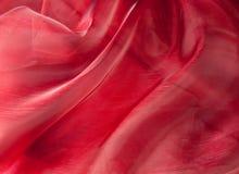 Red fabric Stock Photos