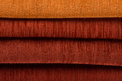 Red fabric Stock Image