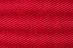 Red fabric. Closeup detail of red fabric texture background Royalty Free Stock Images