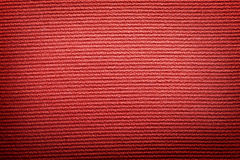 Red fabric cloth vintage canvas Royalty Free Stock Photography
