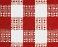 Red fabric design Stock Image