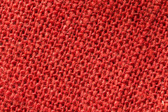 Red fabric. One piece red fabric here Royalty Free Stock Image