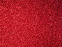 Red fabric sample Stock Image