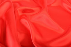 Red fabric silk Royalty Free Stock Image