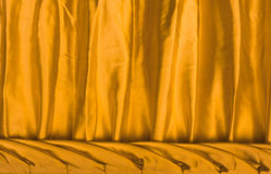 Red fabric silk texture for background Royalty Free Stock Photo