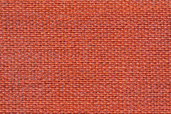 Red fabric texture. Closeup of a red fabric texture background Royalty Free Stock Photography