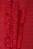 Red fabric texture Royalty Free Stock Images