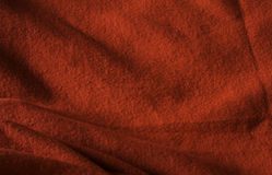 Red fabric texture background Royalty Free Stock Image