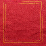Red fabric texture. Texture Background Stock Image