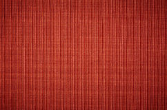 Red fabric texture. Royalty Free Stock Image