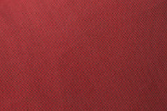 The red fabric texture Stock Photography