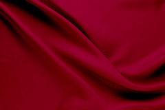 Red fabric texture background Royalty Free Stock Photography
