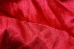 Red fabric texture background. Closeup of red fabric texture background Stock Photo