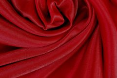 Red fabric texture for background, beautiful pattern of silk or linen. Red fabric texture for background and design, beautiful pattern of silk or linen Stock Photos