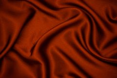 Red fabric texture background. Smooth elegant red silk can use as wedding background Stock Photo
