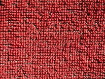 Red fabric texture background. Red fabric texture useful as a background Stock Photo
