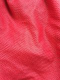 Red fabric texture. Close up red fabric texture Stock Photos