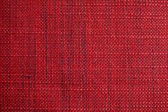 Red fabric texture. Red cloth background. Close up view of red fabric texture and background. Abstract background and texture for designers Royalty Free Stock Photo