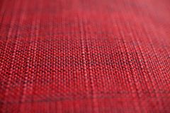 Red fabric texture. Red cloth background. Close up view of red fabric texture and background. Abstract background and texture for designers Stock Photo