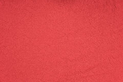 Red fabric texture with flower pattern Royalty Free Stock Photo