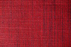 Red fabric texture. Red cloth background. Close up view of red fabric texture and background. Abstract background and texture for designers Royalty Free Stock Photos