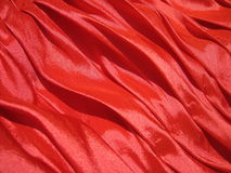 Red fabric texture. Suitable as background Royalty Free Stock Photo