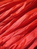Red fabric texture. Suitable as background Royalty Free Stock Image