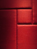 Red Fabric Wall Panel Royalty Free Stock Photo