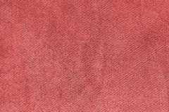 Red fabric woven texture macro Stock Images