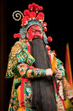 Red face China opera man Royalty Free Stock Photos