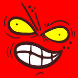Red face Royalty Free Stock Images