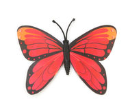 Red fake butterfly  Stock Photography