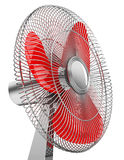 The red fan Royalty Free Stock Photos