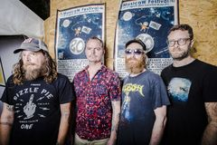 Red Fang Stock Photos