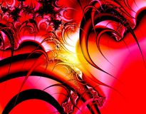 Red fantasy Royalty Free Stock Photography