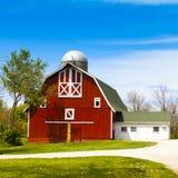 Red Farm Stock Photos