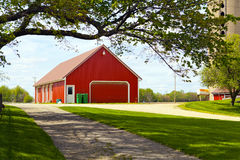 Red Farm Stock Photography