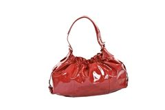 Red fashion bag Royalty Free Stock Photo