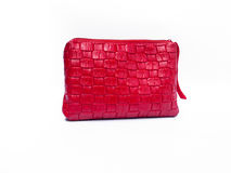 Red fashion bag Royalty Free Stock Images