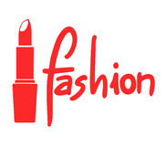Red fashion symbol Royalty Free Stock Photos