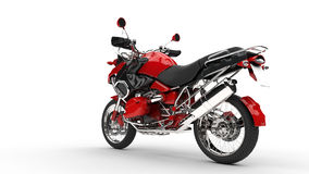 Red Fast Bike Royalty Free Stock Image