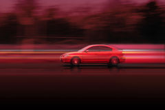 Free Red Fast Car Mazda Stock Photos - 14581563