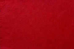 Red felt background Royalty Free Stock Photo