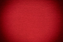 Red felt background Stock Photography