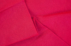 Red felt backing Stock Image